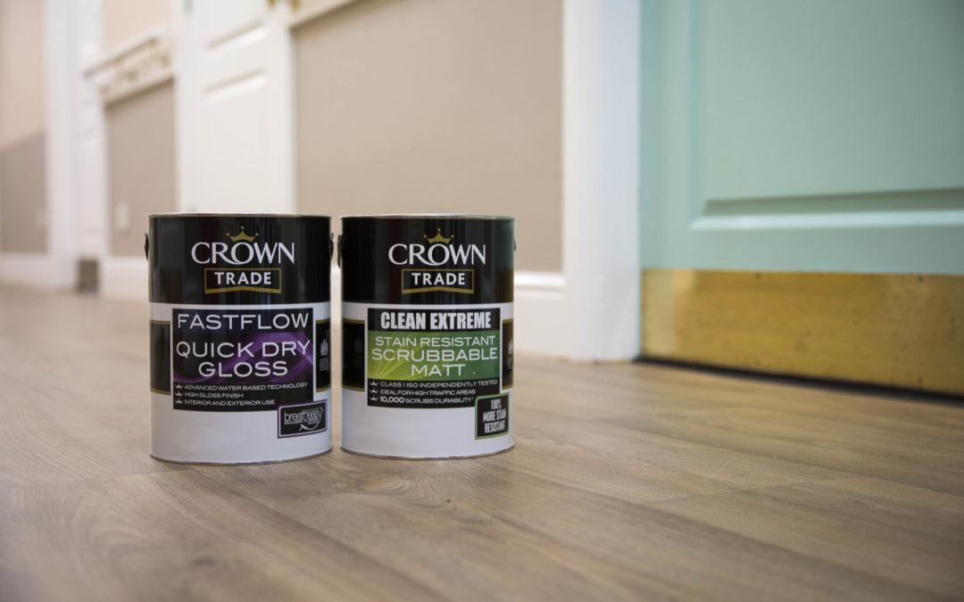 Care homes colour identity Crown Paints