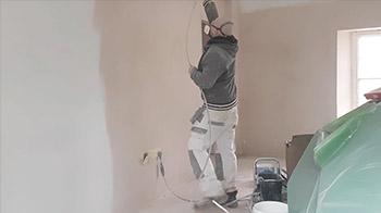 Graco GX FF airless sprayer mist coating