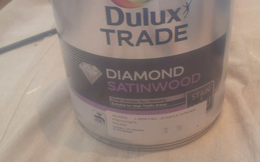Dulux diamond Satinwood review