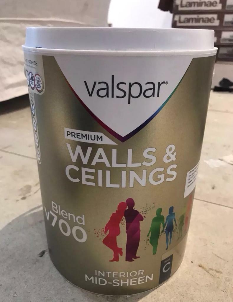 Valspar v700 Emulsion Review, painter