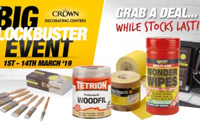 Bargains Galore Crown Decorating Centres