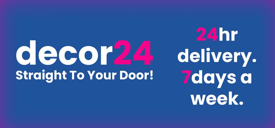 Decor 24 discount code - painting supplies delivered to your door
