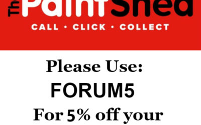 The Paintshed discount code