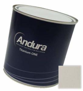 Andura Titanium one Satin Review, paint
