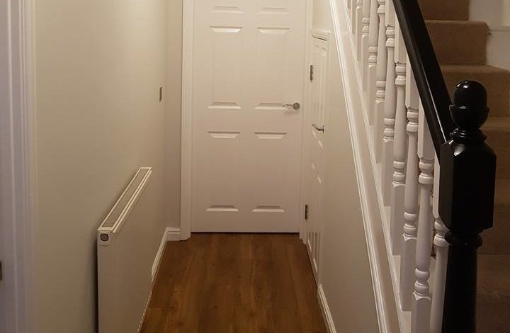 Hallway Completed