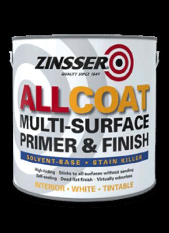 Zinsser allcoat (solvent based) review