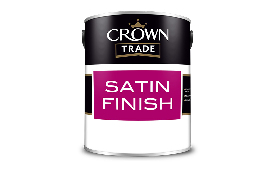 Crown Trade Satinwood (White) Review