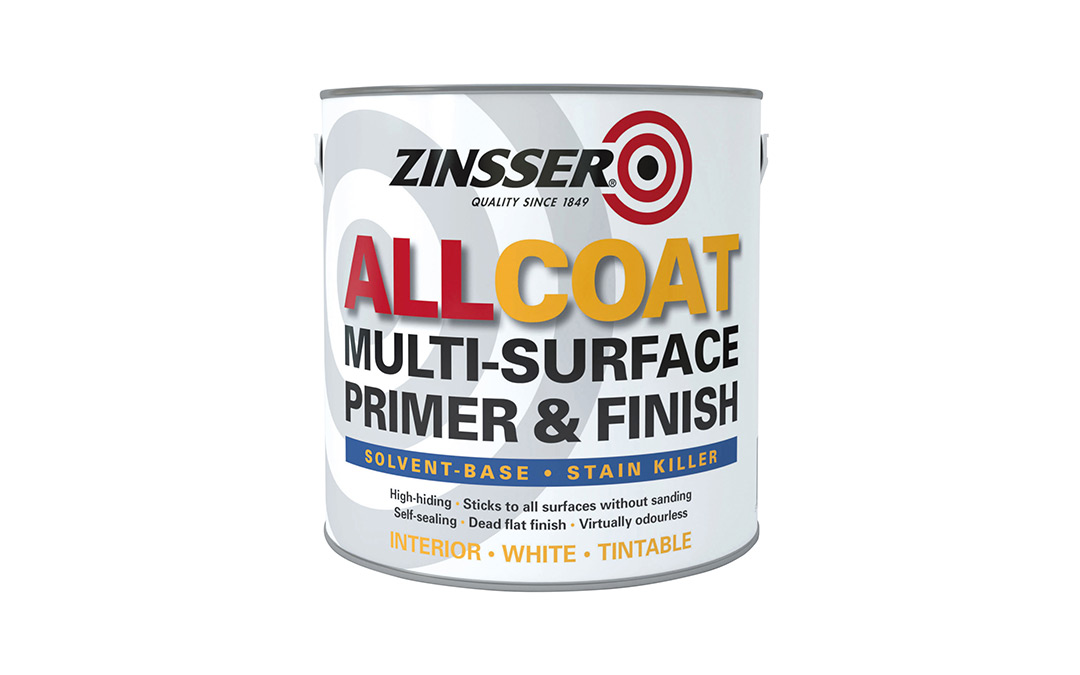 Zinsser allcoat (solvent based) review