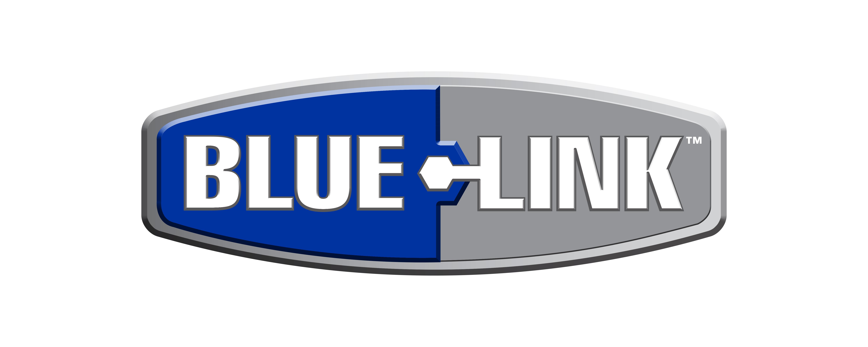 blue-link logo for graco because spraying makes sense