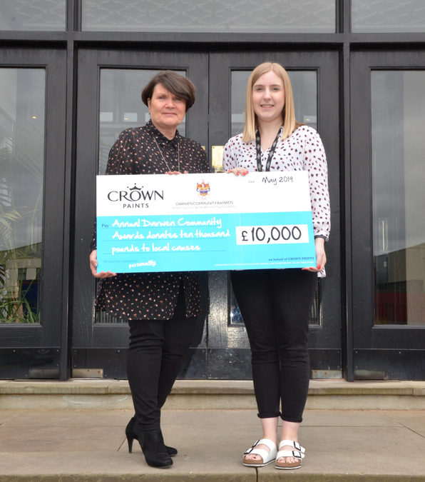 CROWN PAINTS' ANNUAL DARWEN COMMUNITY AWARDS