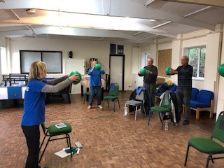 Kingsway Meadow Centre users enjoying the refreshed space
