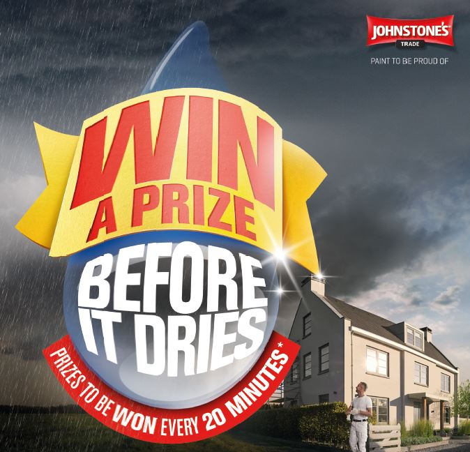 Johnstone's Trade Smooth Masonry competition teerms and conditions