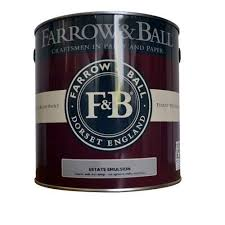 Farrow and Ball Modern and Estate Emulsion, paint