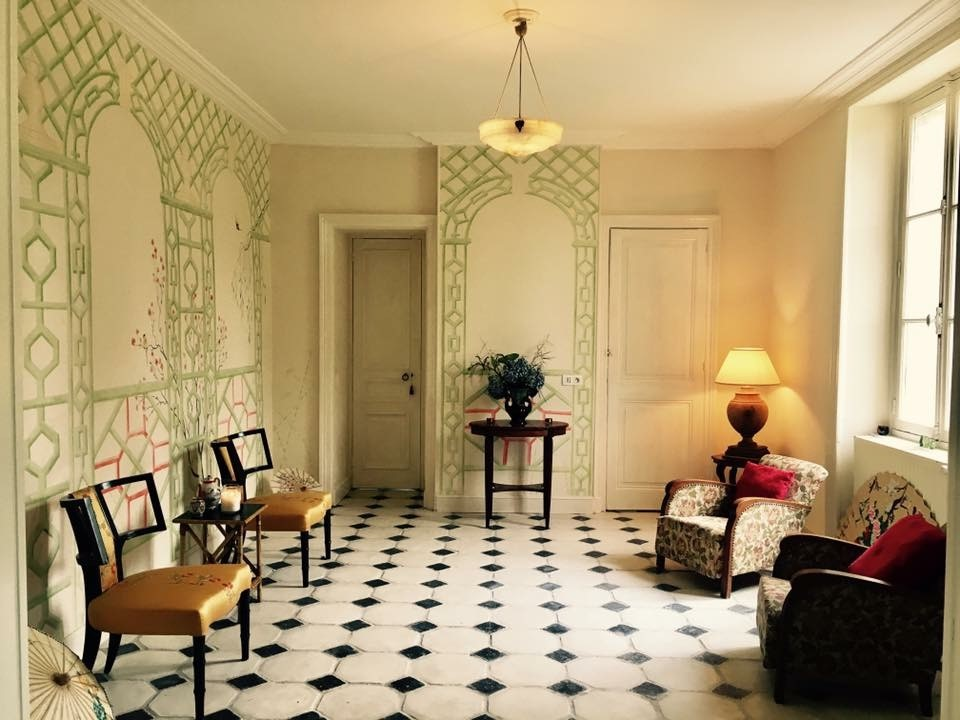 Crown Decorating Centres perfect match for chateau refurb, paint