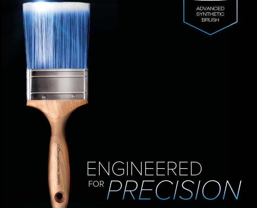 Power up your painting with Crown's Ultimate new brush, paint
