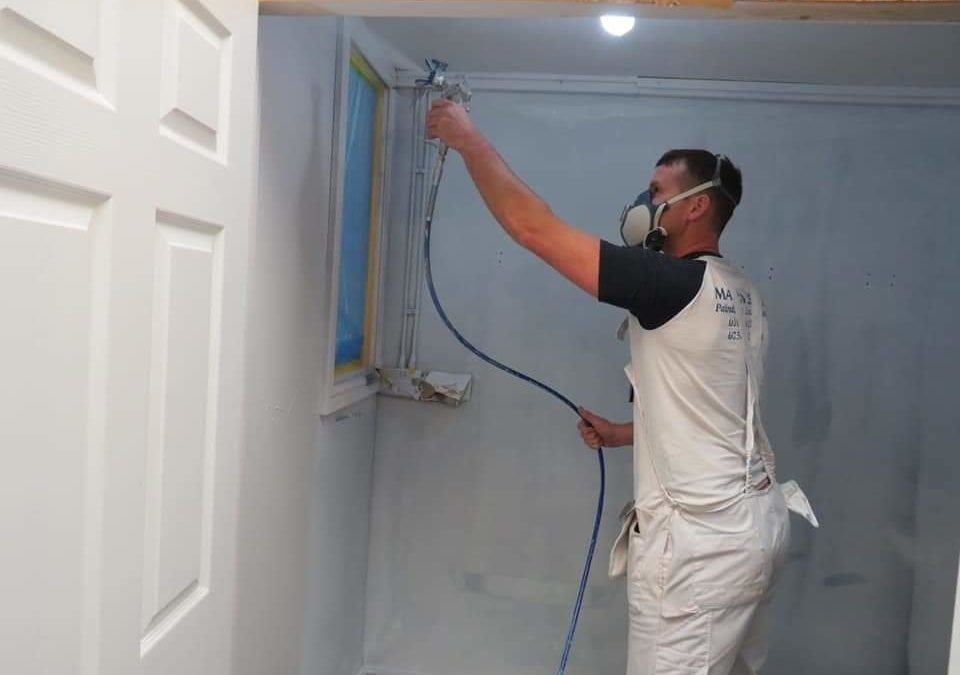 Top Tips for Airless Spraying and painting