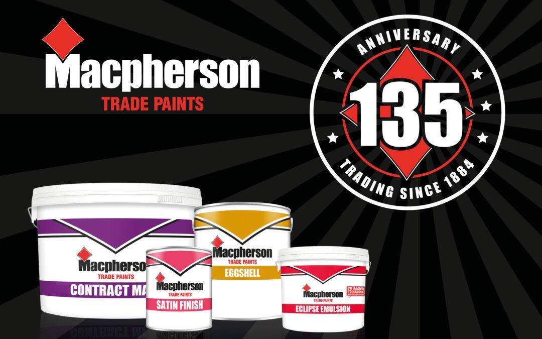 MACPHERSON CELEBRATES 135 YEARS