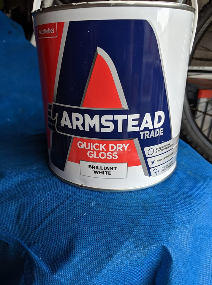 Armstead Quick Dry Gloss Review, brush marks