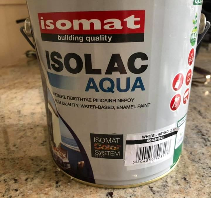 Isomat Isolac Aqua Satin Review