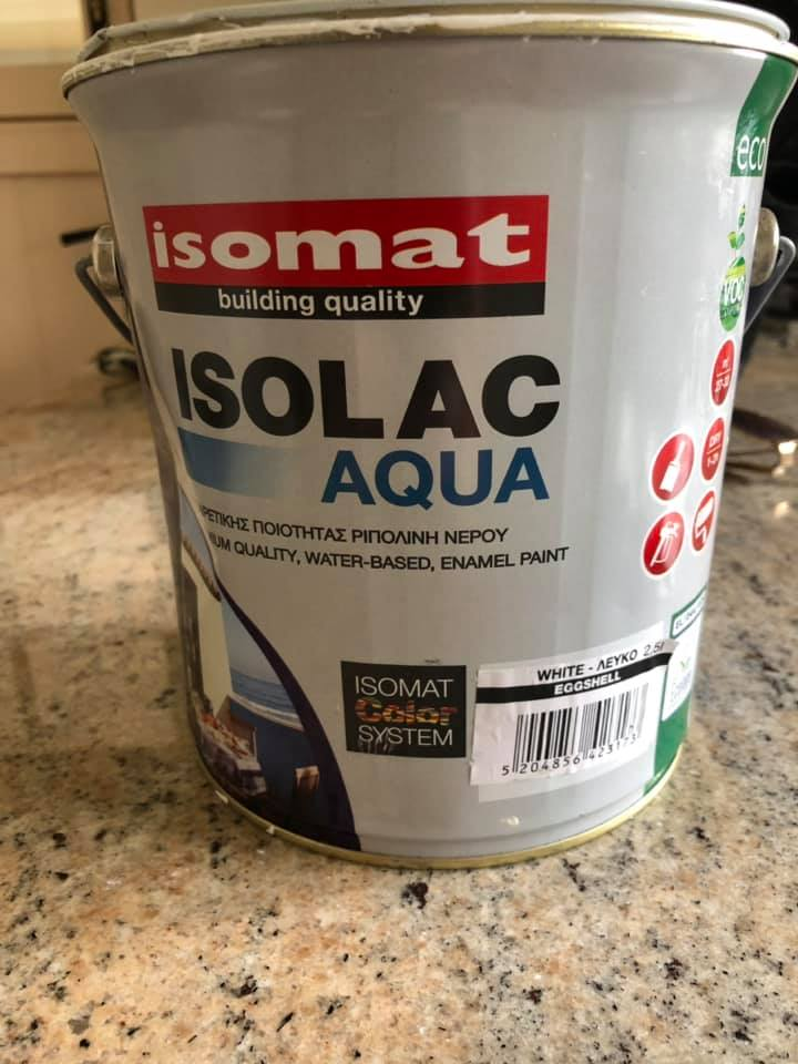 Isomat Isolac Aqua Satin Review, paint