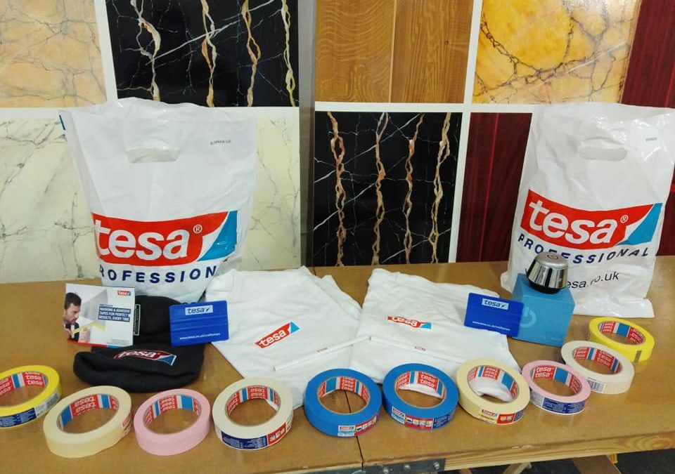tesa® sponsor major Craft competition, paint