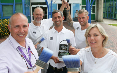 CROWN PAINTS A BRIGHT FUTURE WITH BOURNEMOUTH UNIVERSITY