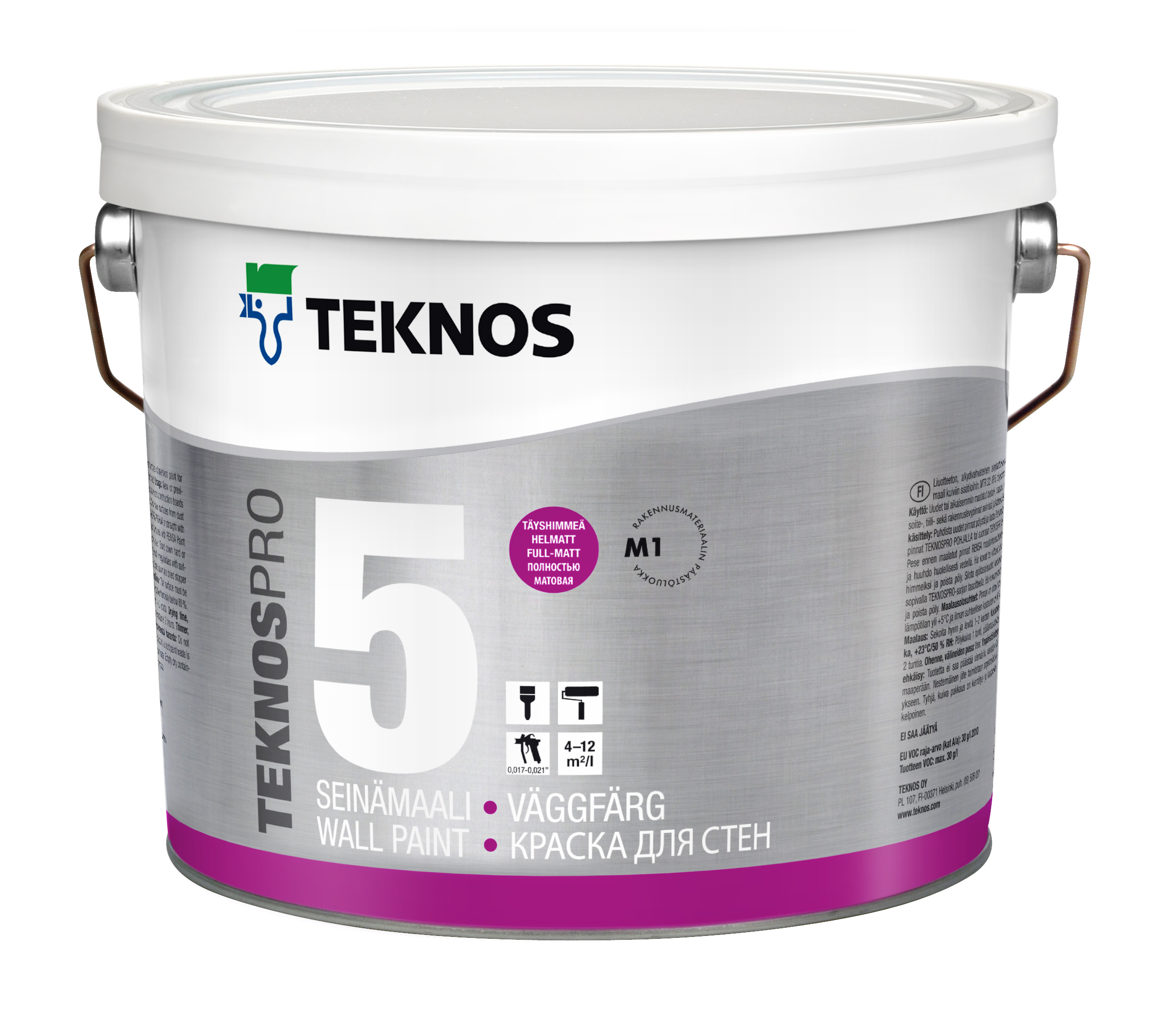 TeknosPro the eponymous portfolio, paints