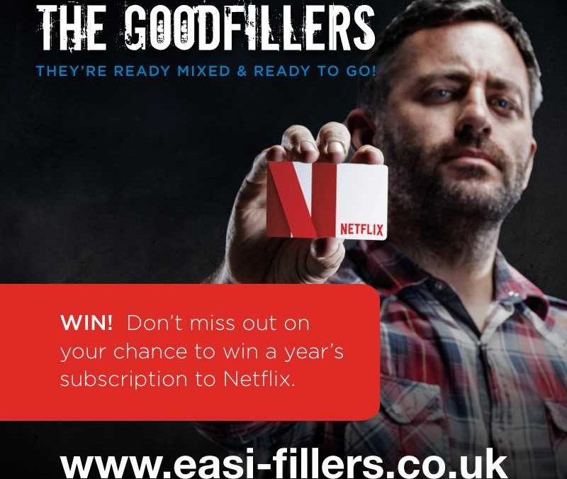 Gyproc are giving 10 lucky tradespeople a FREE annual subscription to Netflix