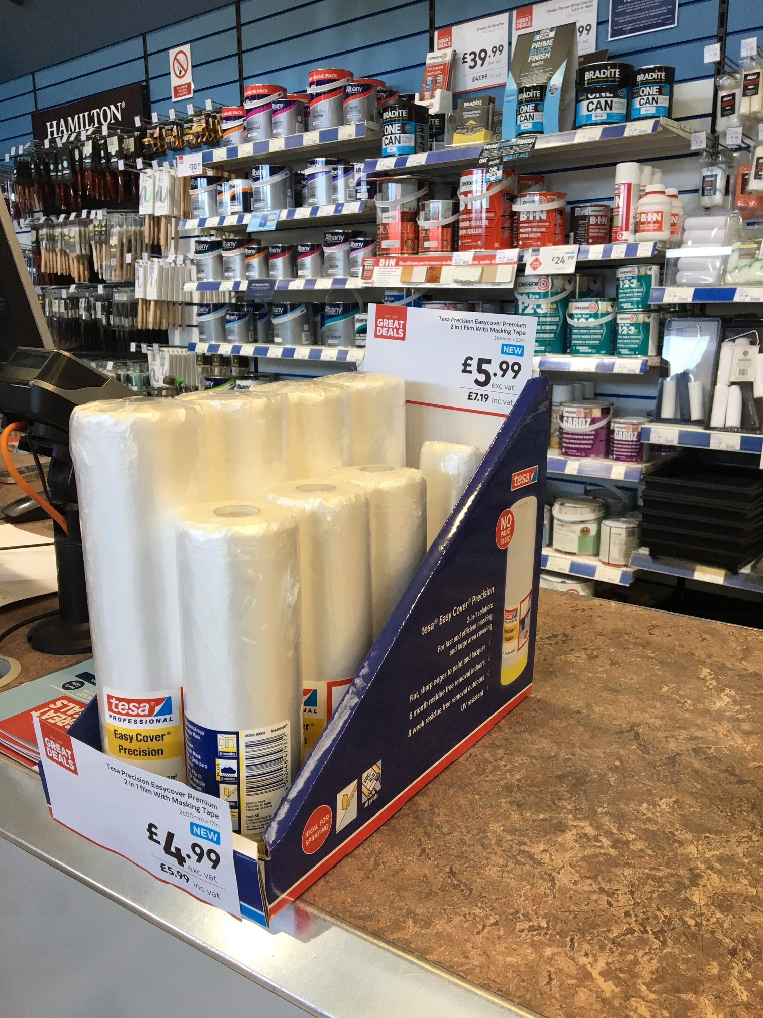 tesa launch new spray paint protection solution in Brewers stores, spray