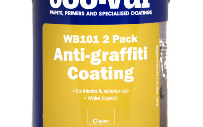 Coo-Var WB101 Anti-graffiti Coating is given Class 0 status