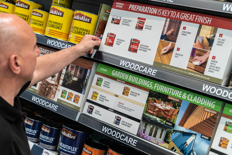 SADOLIN TAKES THE WORRY OUT OF CHOOSING WOODCARE, wood