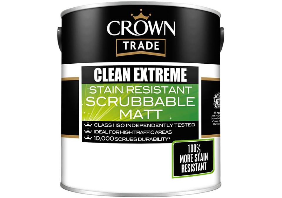 Trade Durable Matt Emulsions, Crown Clean Extreme