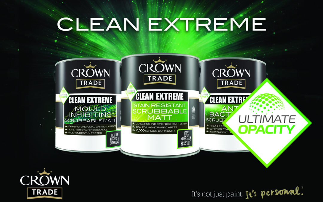 crown clean extreme opacity, covered