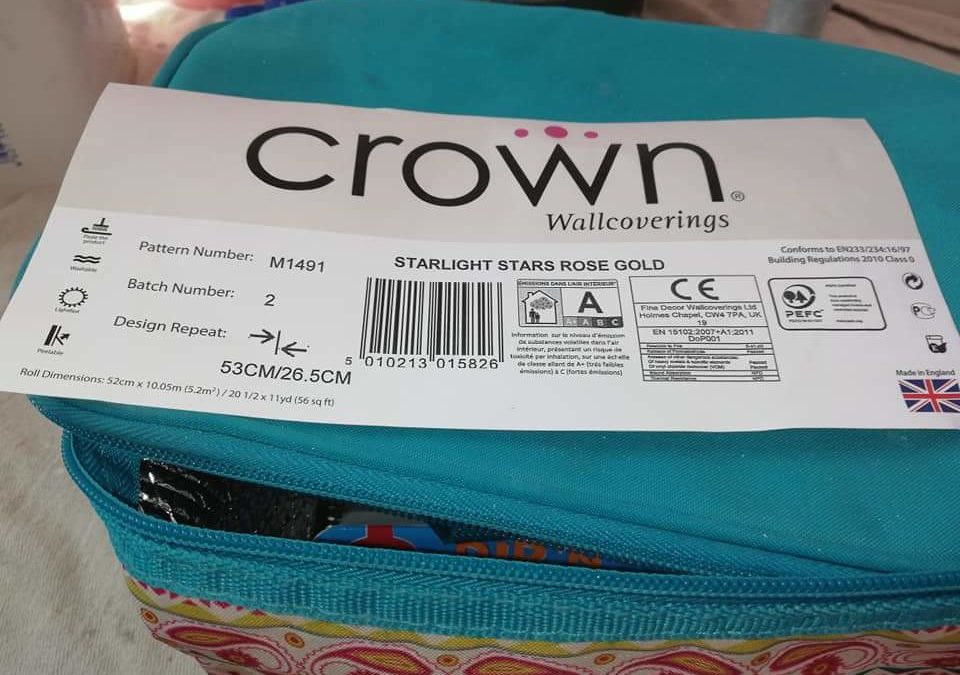 Crown Wallcoverings Wallpaper Review