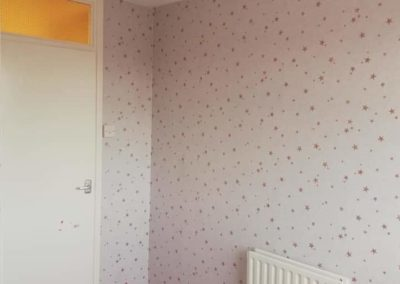 Crown Wallcoverings Wallpaper Review, paint