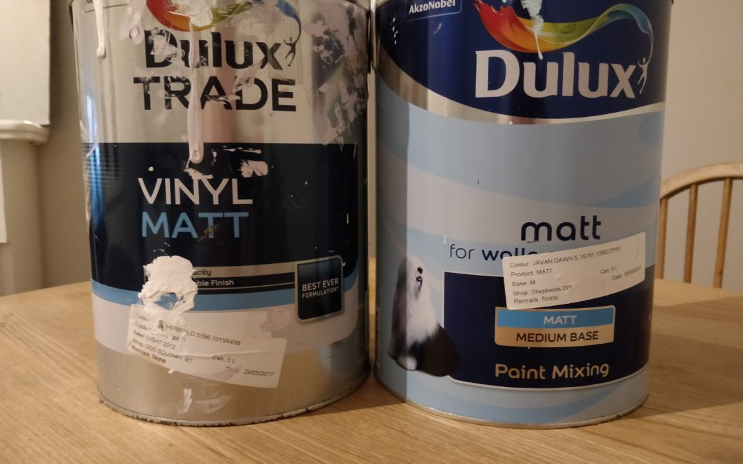 Dulux Matt Emulsion Review, Retail and Trade