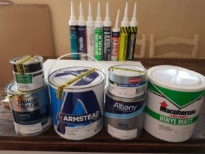 The ultimate caulk paint compatibility test