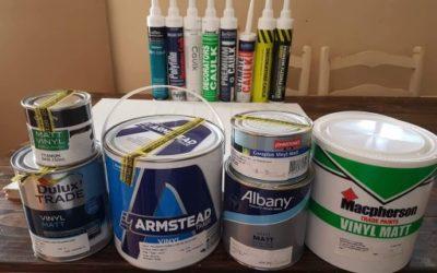 The ultimate caulk/paint compatibility test
