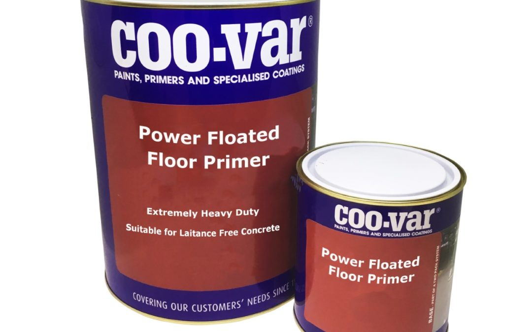 Coo-Var's Latest New Product Launch – Power Floated Floor Primer!