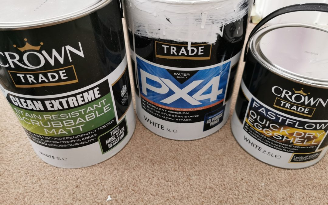 Crown Trade Paint review - A product guide and the best place to buy