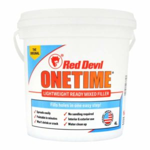 Red Devil OneTime lightweight filler review