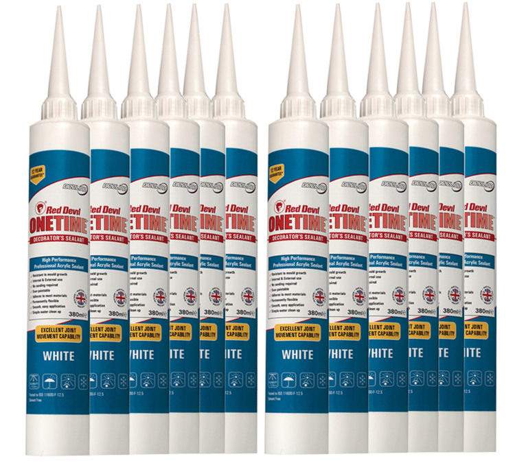 Interior and Exterior Caulk Review – OneTime