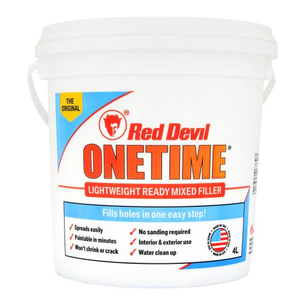 Red Devil Onetime Review – Lightweight Filler