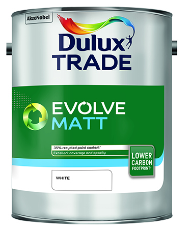 Dulux Trade Evolve Matt – Recycled Paint
