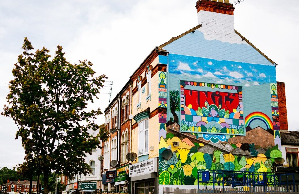 Crown Paints Brightens Up Hull's Spring Bank