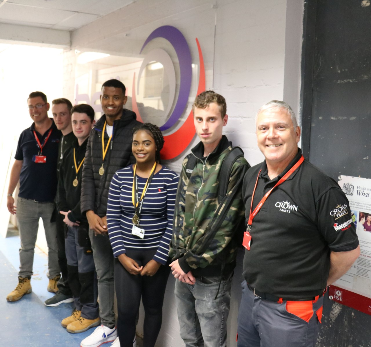 Apprentices Get Colour Confident With Crown At SGS Bell Decorating Academy