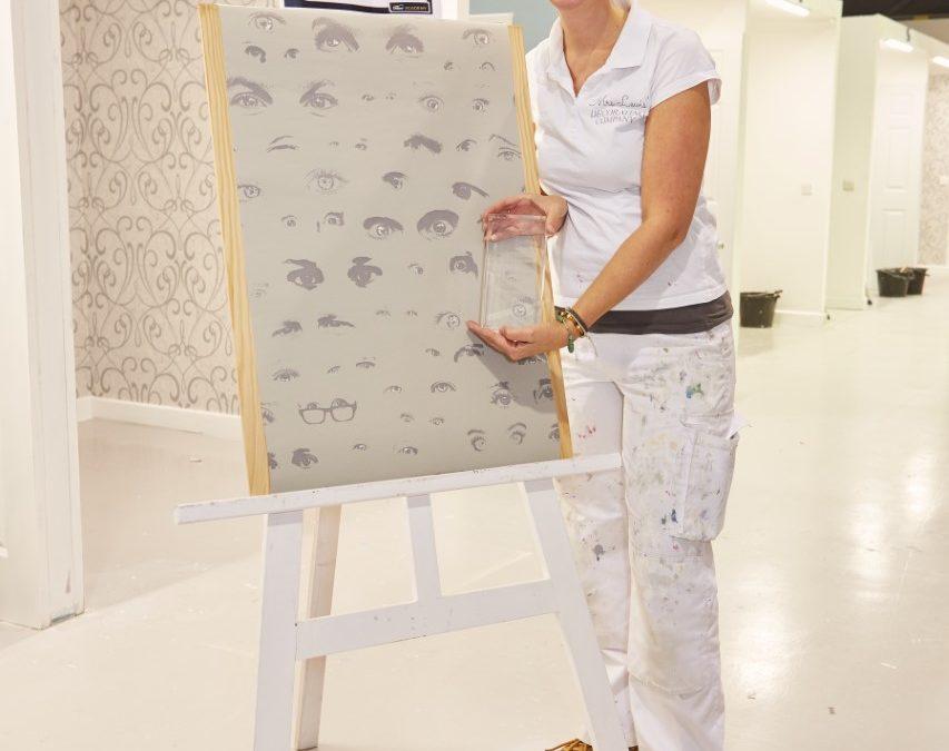 Dulux Academy's Ultimate Wallpapering Challenge Winner
