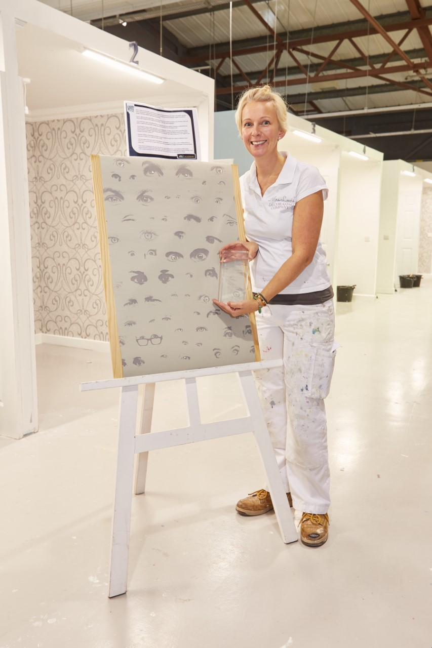 Dulux Academy's Ultimate Wallpapering Challenge Winner 2019