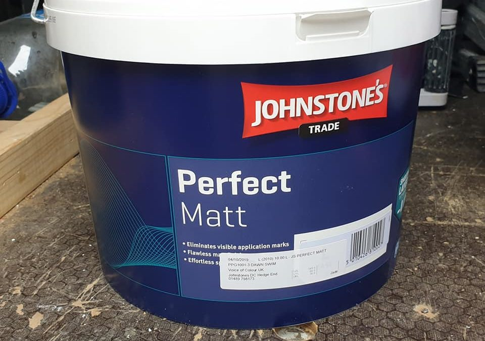 Johnstone's Perfect Matt Review from a Decorator