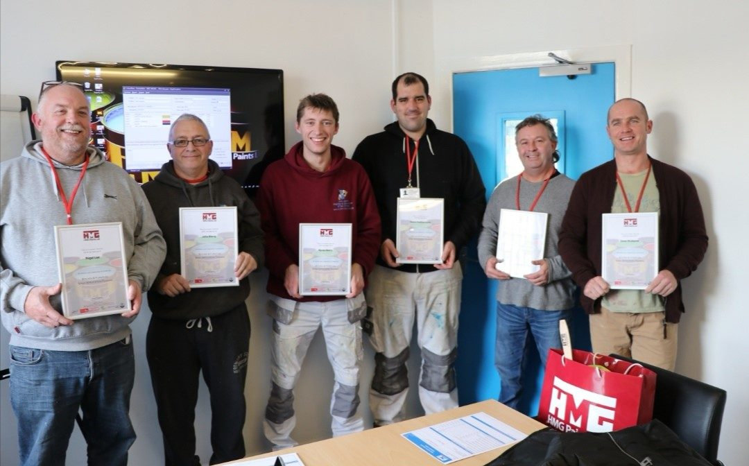 HMG Spray Course Review – Decorator Training